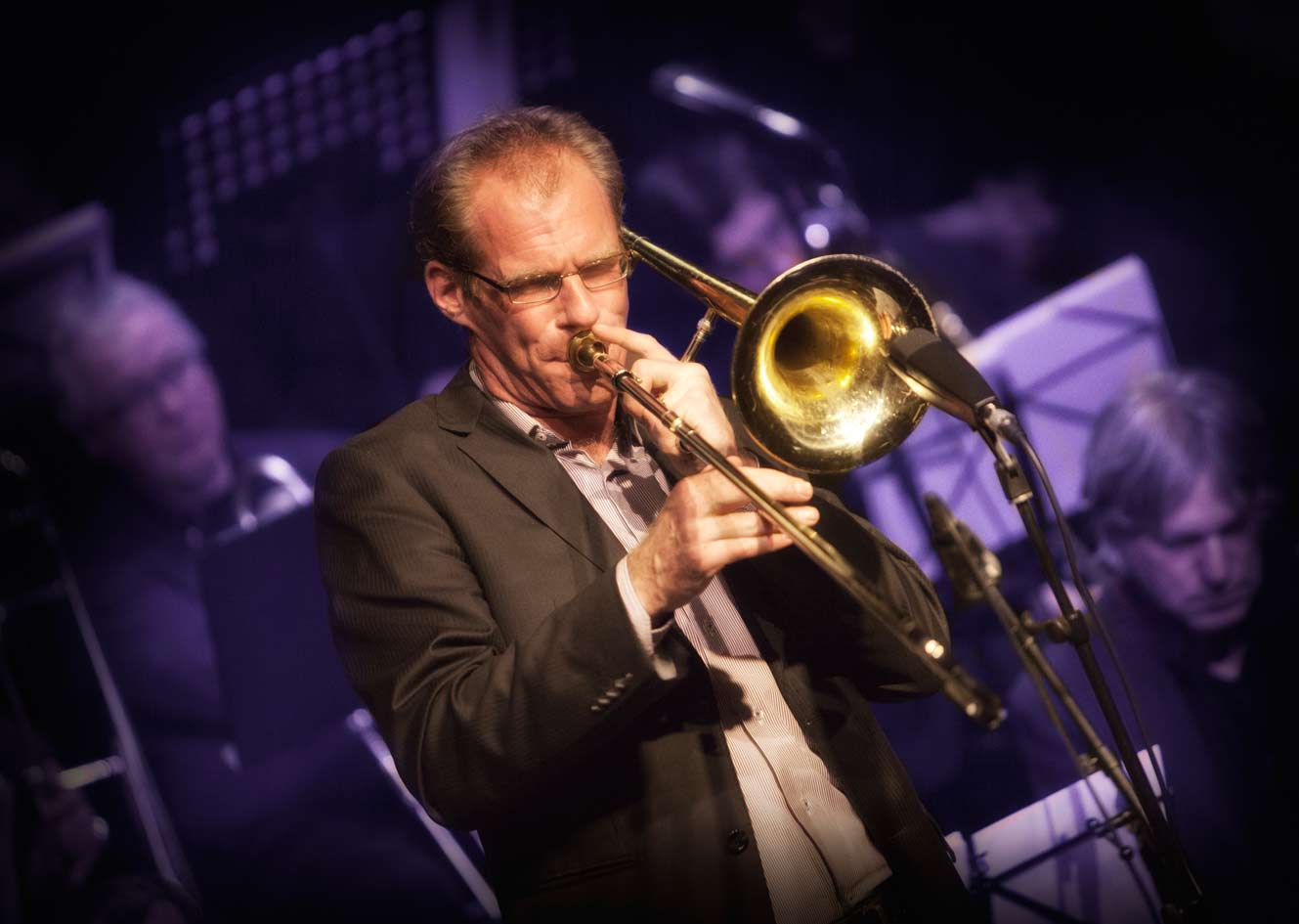 Leading Dutch trombone player Ilja Reingoud
